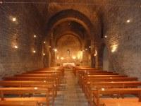 Església de Santa Eugènia de Berga - interior