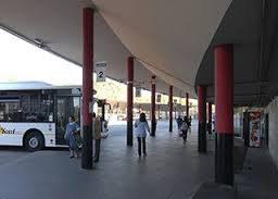 Andana estació d'autobusos