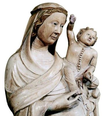 Escultura gòtica - Mare de Déu de Boixadors